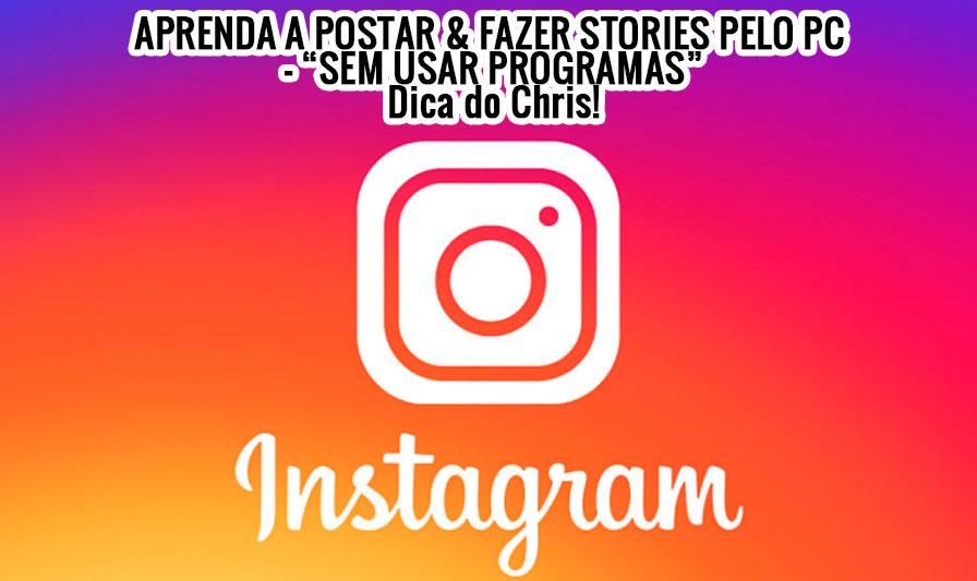 Postar no Instagram pelo PC